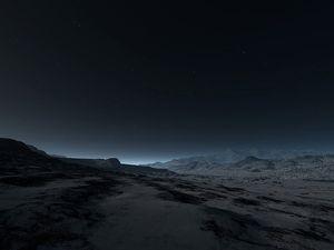 Fond-ecran-desert-de-nuit