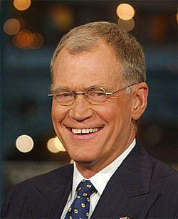 David Letterman's hair