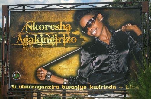 Rwandan condom billboard. 1jpg