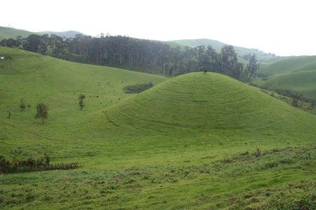 Rutshuru hills