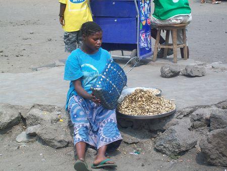 Vendeuse Goma