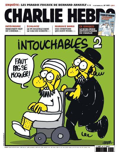 Charlie hebdo 1057-une