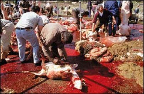 Massacre des chrétiens-
