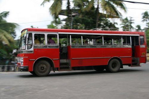 Nairobi red bus 2