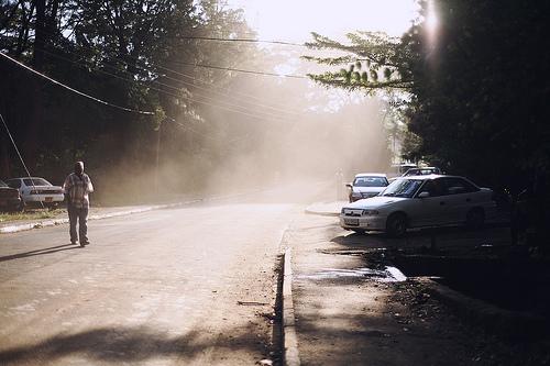 Nairobi fog