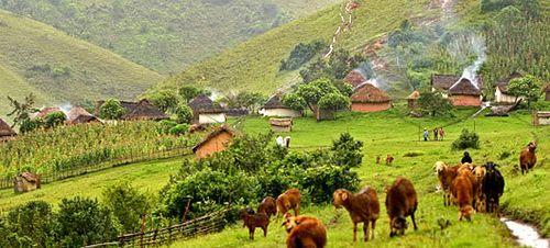 Banyamulenge village