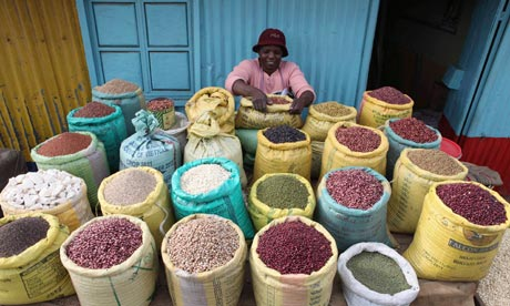 Nairobi shop grains