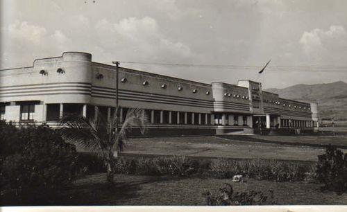 Bujumbura hopital rétro