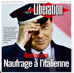 Berlusconi naufrage