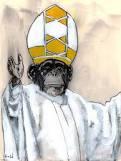 Singe pope