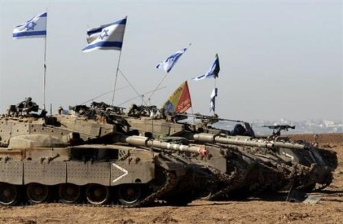 Chars israeliens