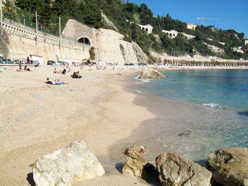 Villefranche plage