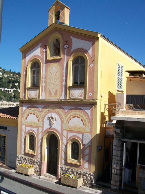 Villefranche chapelle